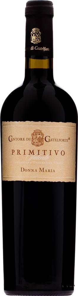 Cantore di Castelforte Primitivo Salento IGT Donna Maria Cantore di Castelforte 14% 0,75l