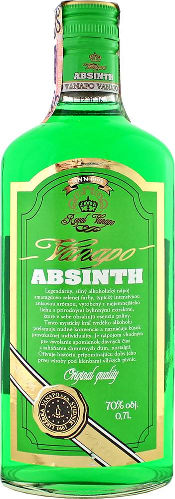 Vanapo Vanapo Absinth Royal 70% 0,7l