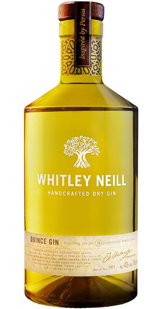 Whitley Neill Whitley Neill Quince Gin 43% 0,7l
