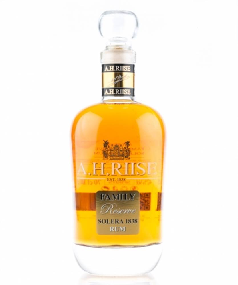 A.H. Riise A.H. Riise Family Reserve Solera 1838 Limited Edition + GB 0,7l (42%)