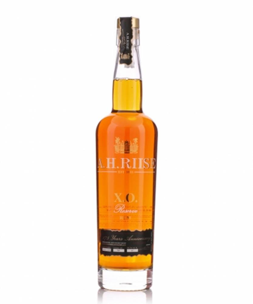 A.H. Riise A.H. Riise X.O. Reserve 175 Years Anniversary Rum Limited Edition + GB 0,7l (42%)