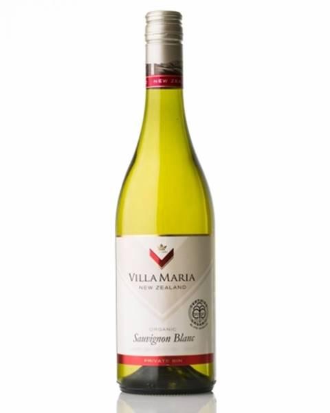 Villa Maria Estate Villa Maria Private Bin Sauvignon Blanc Organic Víno biele suché 0,75l