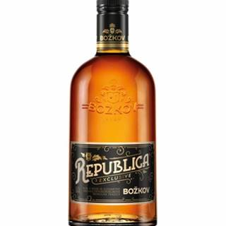 Božkov Republica Exclusive 0,7l (38%)