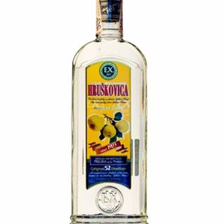 Hruškovica pravý destilát 0,7l (52%)