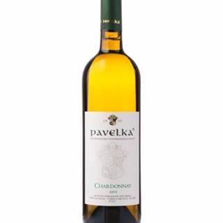 Pavelka Chardonnay výber z hrozna 0,75l