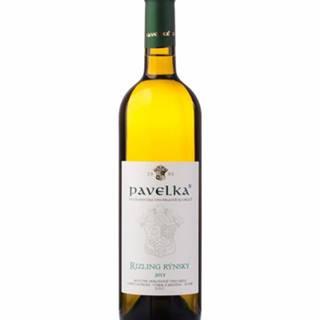 Pavelka Rizling rýnsky Víno biele suché 0,75L