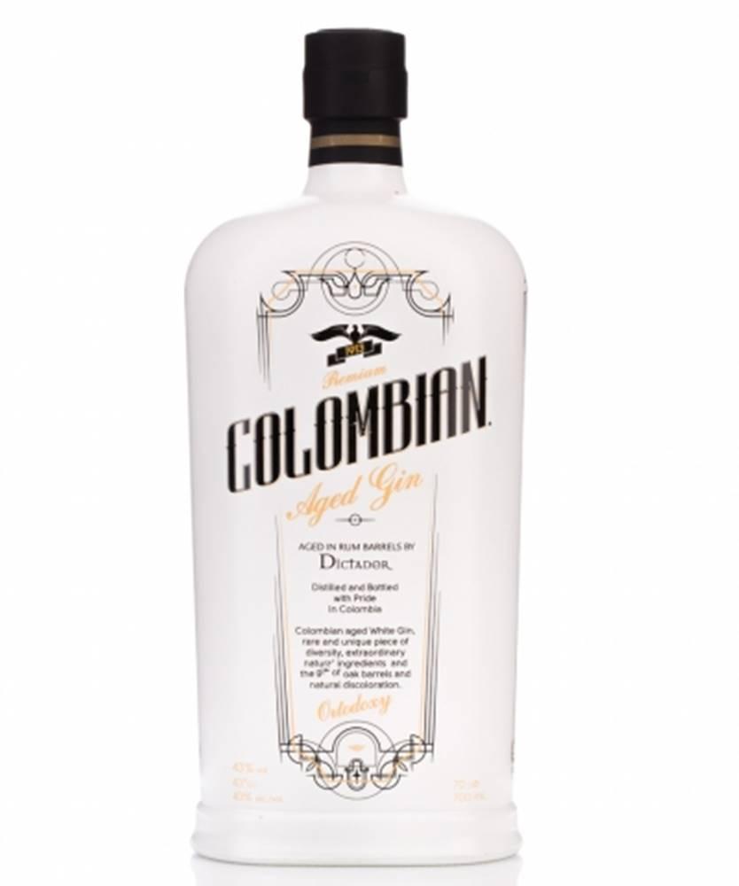 Destilería Colombia Ltd (Dictador) Dictador Colombian Aged White Gin 0,7l (43%)