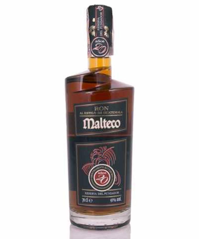 Licorera Quezalteca Malteco 20 Y 0,7l (41%)