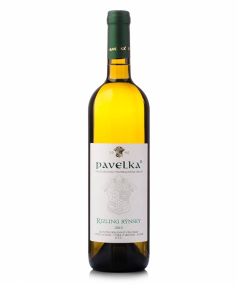 VPS Pavelka a syn Pavelka Rizling rýnsky Víno biele suché 0,75L