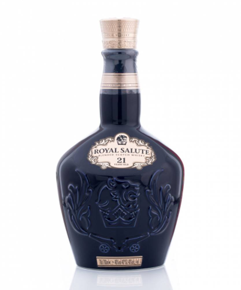 Chivas Regal Royal Salute 21 YO + GB 0,7l (40%)