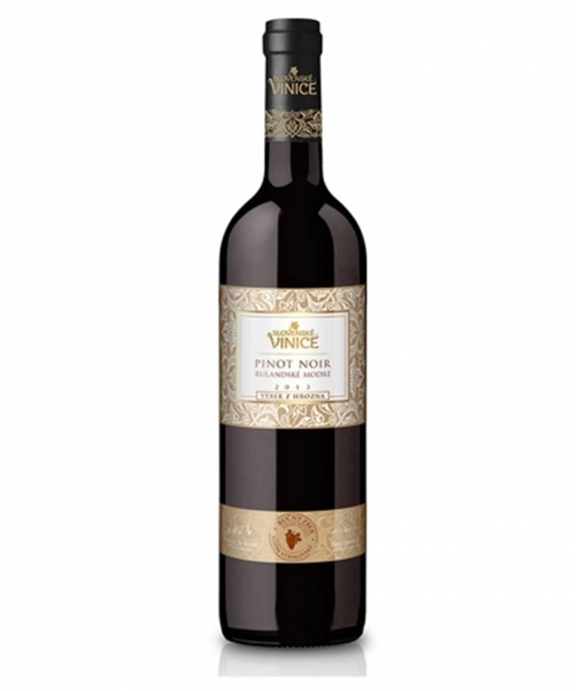 Slovenské Vinice Slovenské Vinice Pinot Noir výber z hrozna
