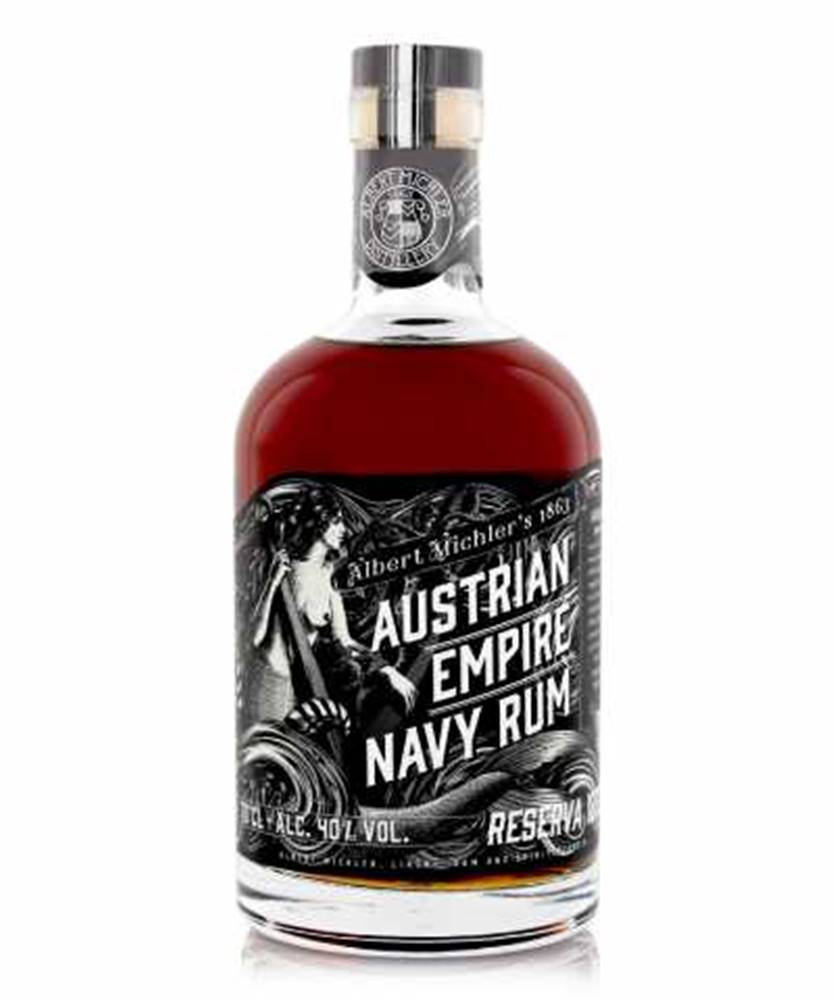 Albert Michel´s Distillery Austrian Empire Navy Reserva 1863 0,7l (40%)