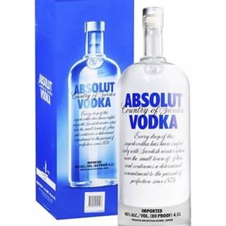 ABSOLUT Vodka 4,5l (40%)