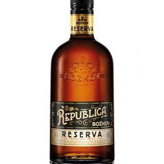 Božkov Republica Reserva 0,7L (40%)