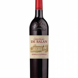 Chateau de Balan Bordeaux Superieur 0,75l