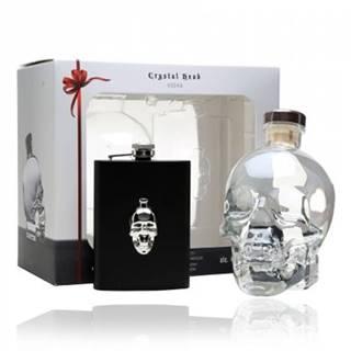Crystal Head Hipflask Vodka + ploskačka 0,7l (40%)