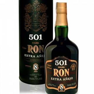 RON 501 Anejo 8YO + GB 0,7l (38%)