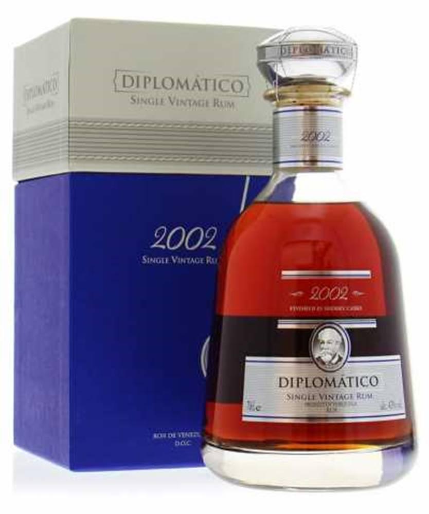 Diplomatico Diplomatico Single Vintage 2002 + GB 0,7l (43%)