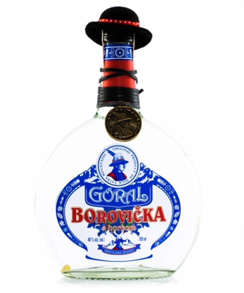 Goral Goral Borovička s horcom 0,7l (40%)