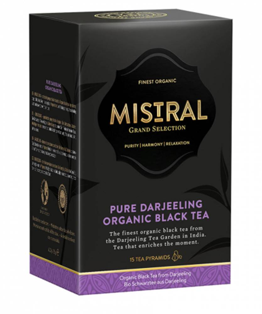 Baliarne obchodu, a.s. Mistral Grand Selection Darjeeling 33g