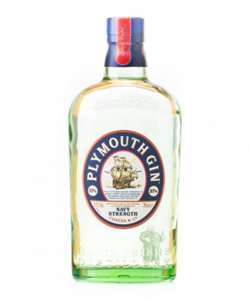 Plymouth Gin Distillery Plymouth Navy Strength Gin 0,7l (57%)