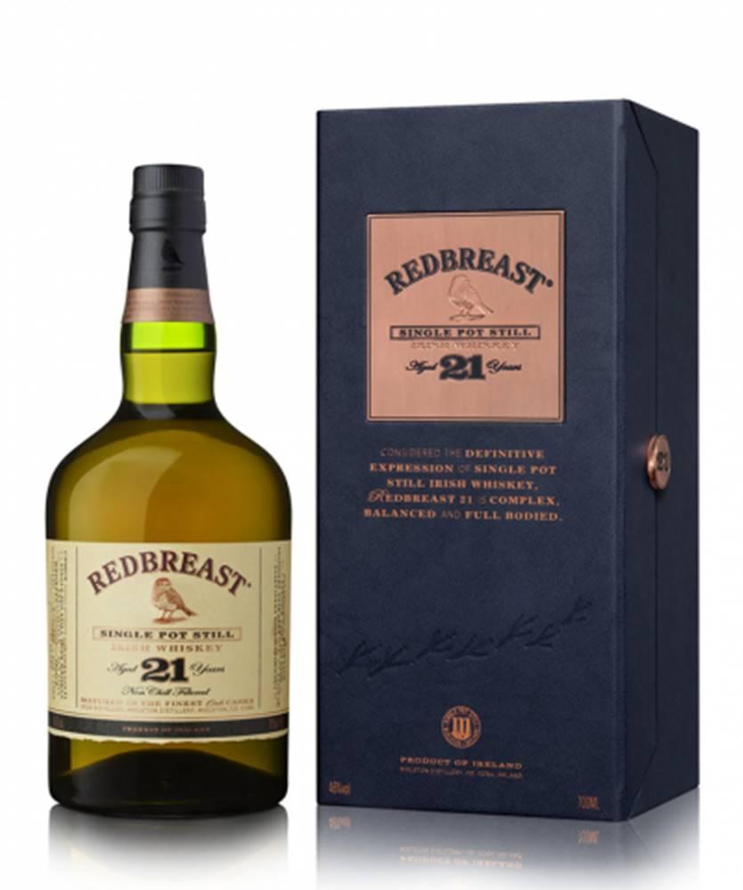 Pernod Ricard Redbreast 21Y Irish Whiskey + GB 0,7L (46%)
