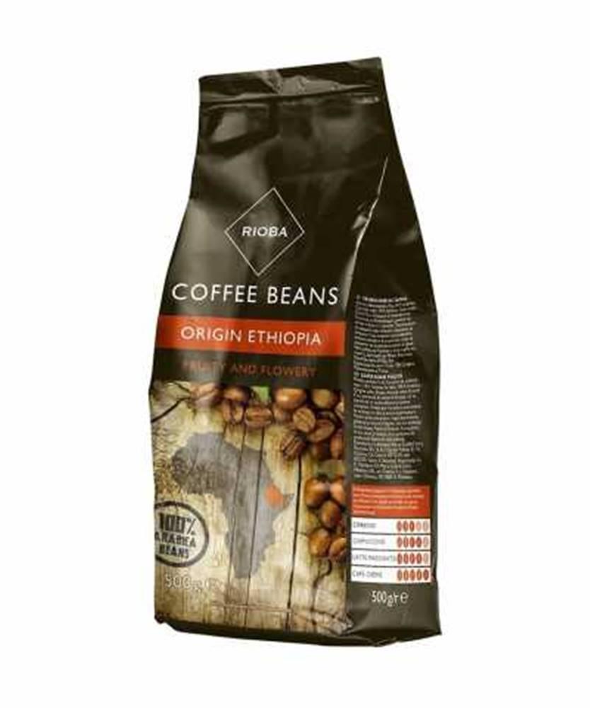 Rioba Rioba Ethiopia káva zrnková 500g