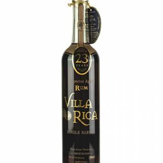 Villa Rica Single Barrel 23YO Ultra Premium Superior Aged Rum 0,7L (40%)
