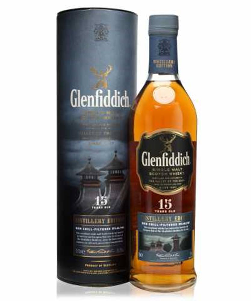 Glenfiddich Glenfiddich 15 YO Distillery Edition + GB 0,7l (51%)