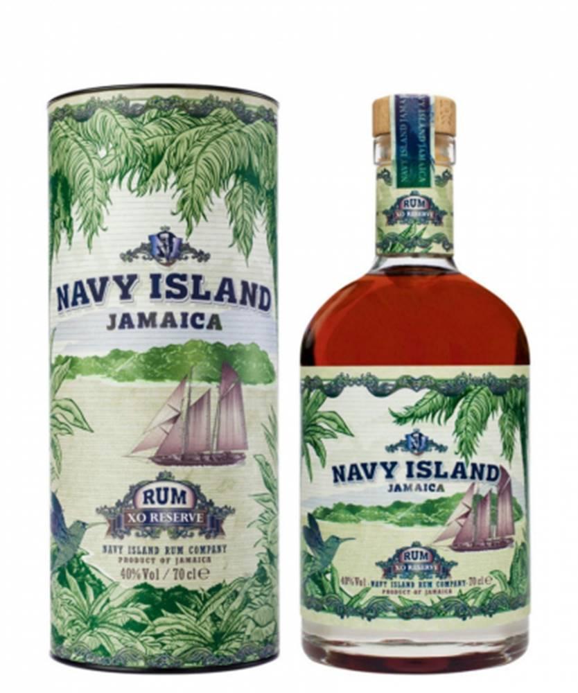 Boukman Navy Island Jamaica XO Reserve 0,7L (40%) + GB