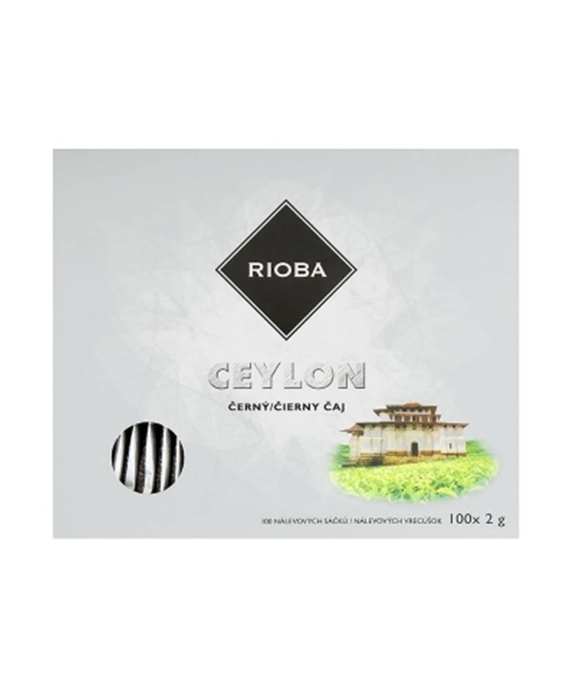 Teekanne Rioba Ceylon čierny čaj 100x2g