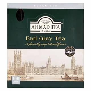 Ahmad Earl Grey čierny čaj alu sáčky 100 ks x 2 g