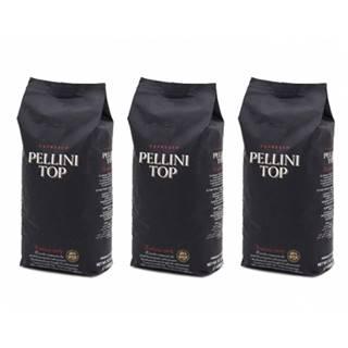 Pellini TOP 100% arabika zrnková káva 3 x 1 kg