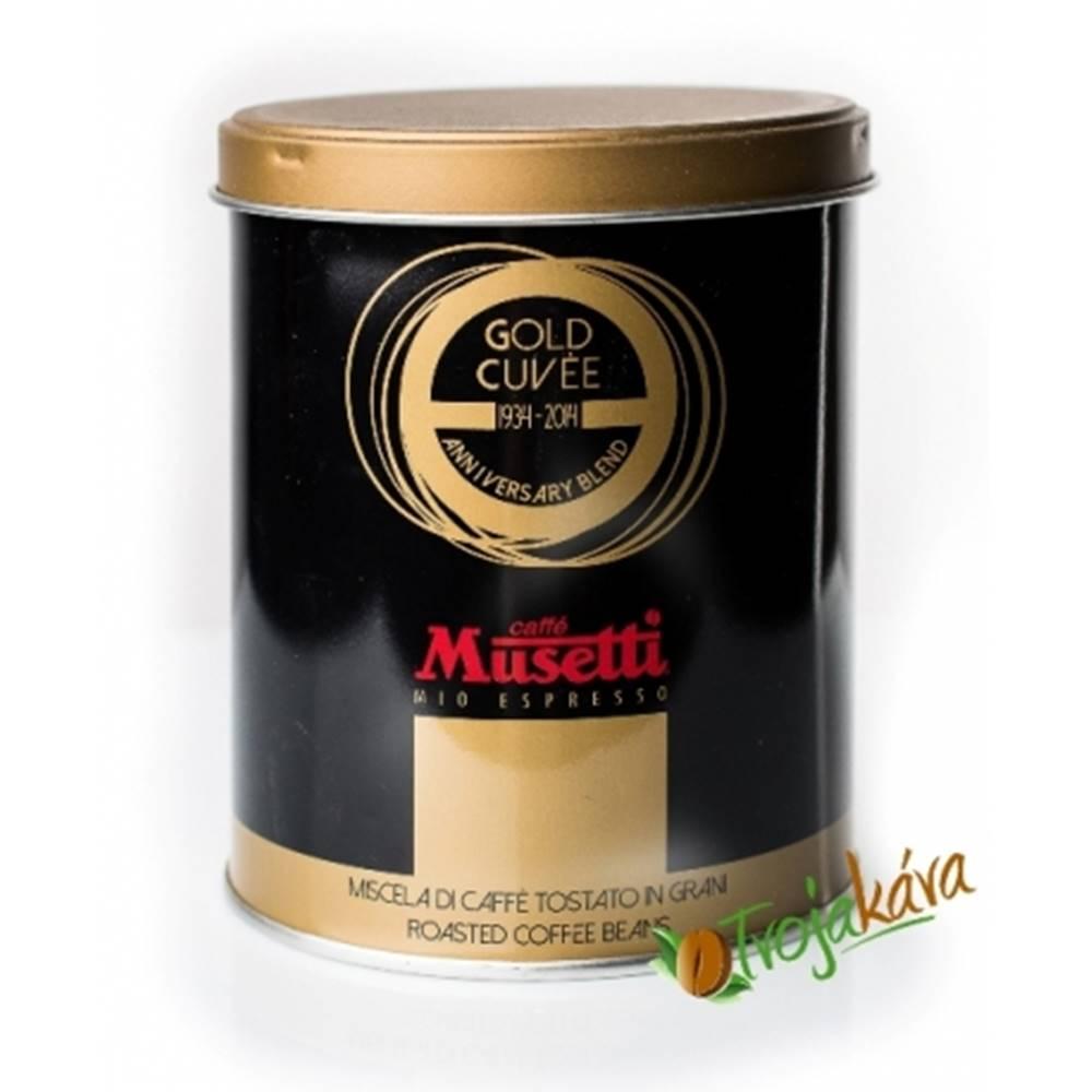 MUSETTI Musetti Gold Cuvee 250 g mletá káva
