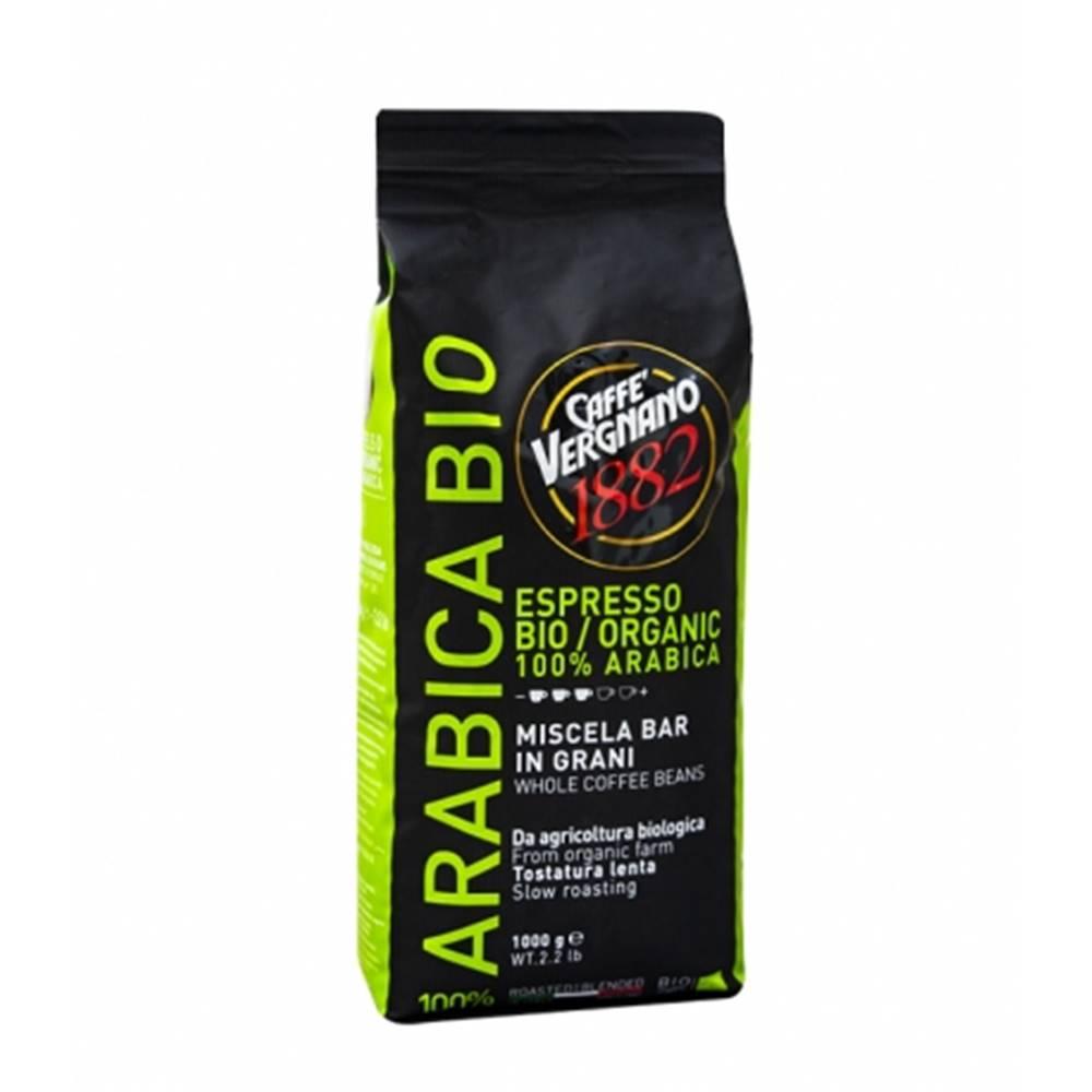 VERGNANO Vergnano 100% Arabica Organic zrnková káva 1 kg