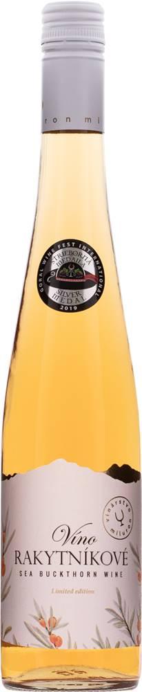 Miluron Miluron Rakytníkové víno 11% 0,75l