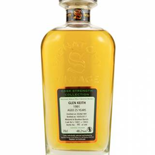 Signatory Vintage Glen Keith 1991 25YO Cask Strength 0,7L (48,2%)
