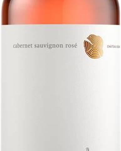 Víno ružové Chateau Rúbaň