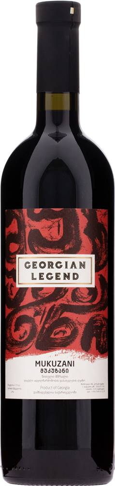 Georgian Legend Georgian Legend Mukuzani 14% 0,75l