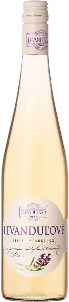 Levanduland Levanduland Levanduľové biele - sparkling 10% 0,75l