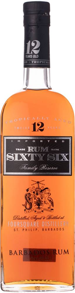 Sixty Six Sixty Six Rum 12 ročný  40% 0,7l