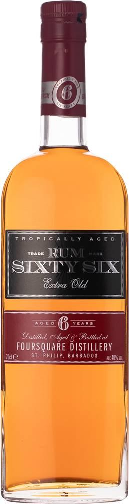 Sixty Six Sixty Six Rum 6 ročný 40% 0,7l