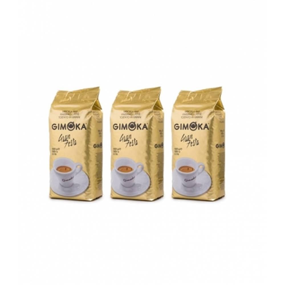 LUCAFFÉ Gimoka Gran Festa zrnková káva 3 x 1 kg