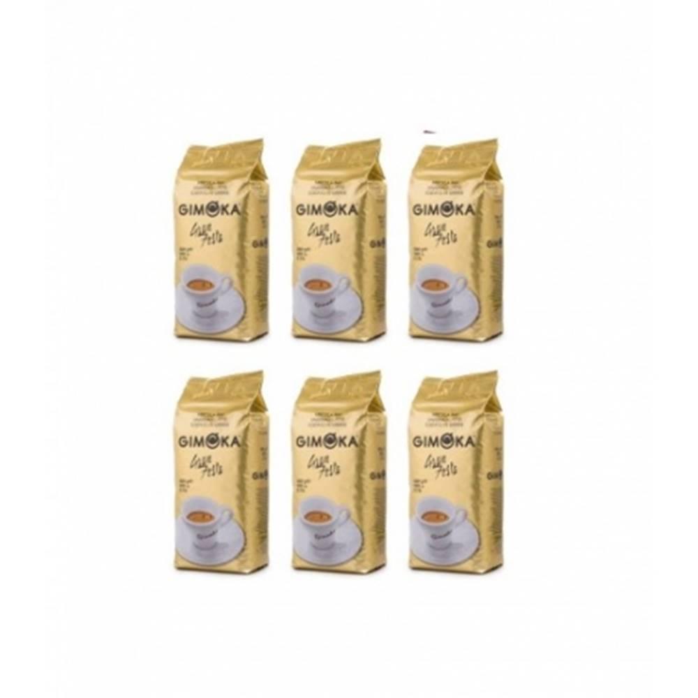 LUCAFFÉ Gimoka Gran Festa zrnková káva 6 x 1 kg