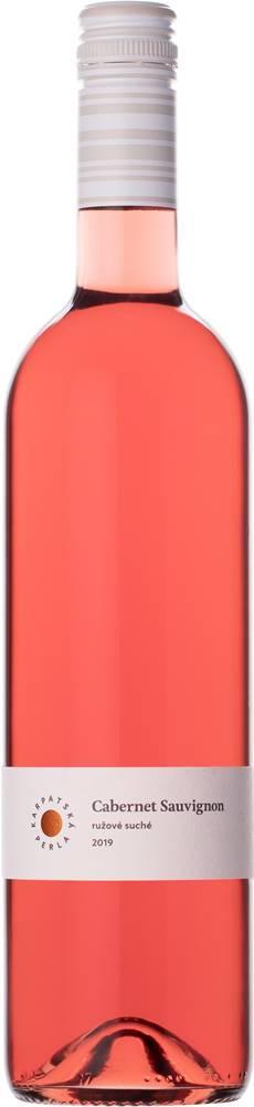Karpatská perla Karpatská Perla Cabernet Sauvignon rosé 12% 0,75l