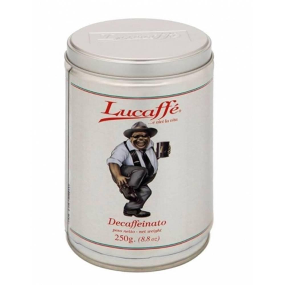 LUCAFFÉ Lucaffé Decafeinato zrnková káva 250 g