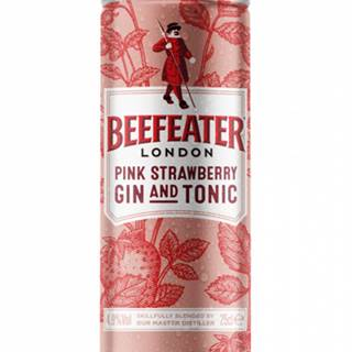 Beefeater Pink Strawberry Gin&Tonic 0,25L (4,9%)