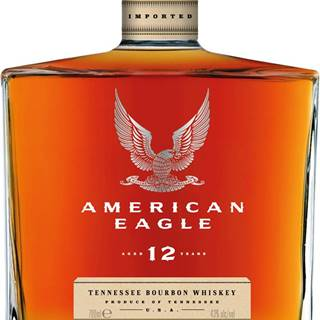 American Eagle 12 ročná 43% 0,7l