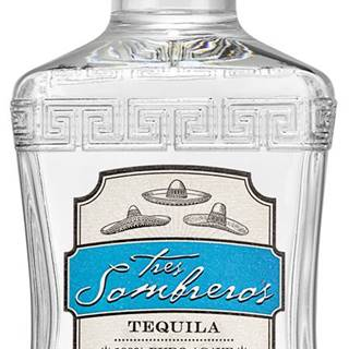 Tres Sombreros Tequila Blanco 38% 0,7l