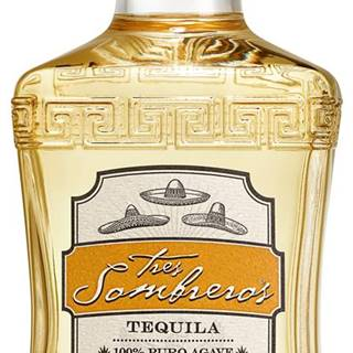 Tres Sombreros Tequila Reposado 38% 0,7l